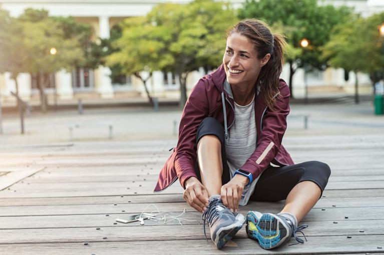 Joggen als effizientes Training zur Stärkung des Körpers gegen Krebs.